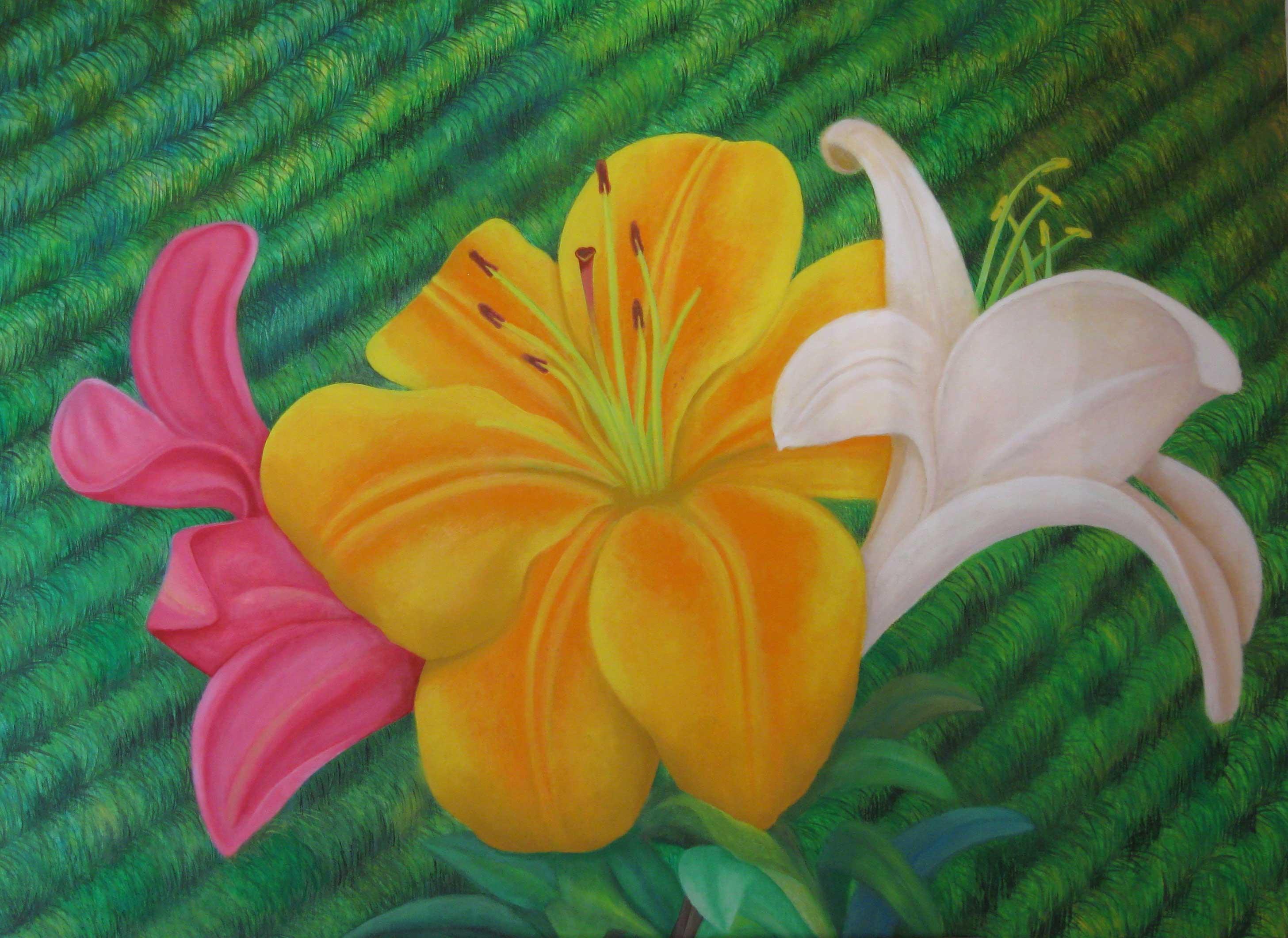Imagenes De Flores Para Pintar Al Oleo Pelautscom Tattoo